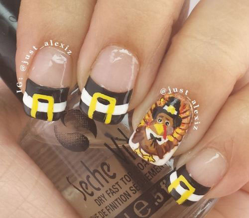 20-Happy-Thanksgiving-Nails-Art-Designs-Ideas-2017-9