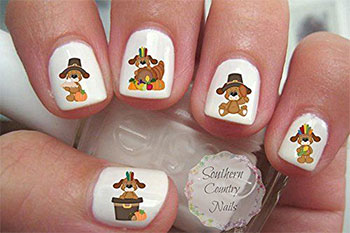 Cute-Cheap-Thanksgiving-Nail-Decals-Stickers-2017-6