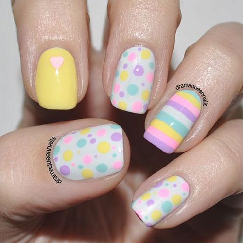 12-Easter-Color-Nail Art-Designs-Ideas-2018-6