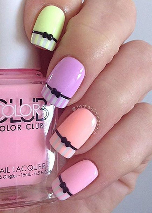 12-Easter-Color-Nail Art-Designs-Ideas-2018-7