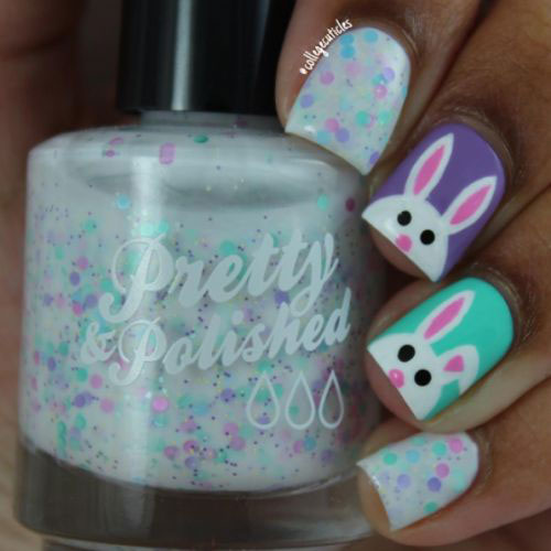 15-Easter-Bunny-Nails-Art-Designs-Ideas-2018-1