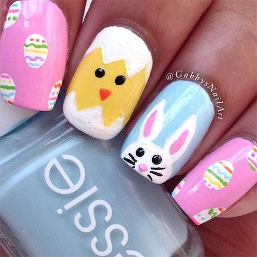 15-Easter-Bunny-Nails-Art-Designs-Ideas-2018-11
