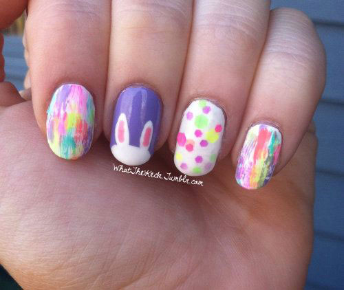 15-Easter-Bunny-Nails-Art-Designs-Ideas-2018-14