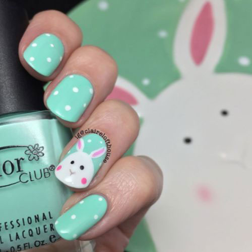 15-Easter-Bunny-Nails-Art-Designs-Ideas-2018-4