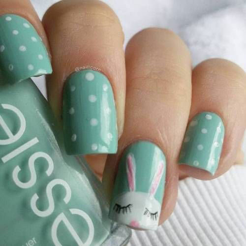 15-Easter-Bunny-Nails-Art-Designs-Ideas-2018-6