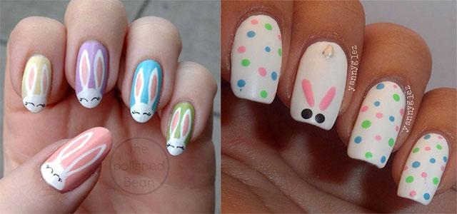 15-Easter-Bunny-Nails-Art-Designs-Ideas-2018-F