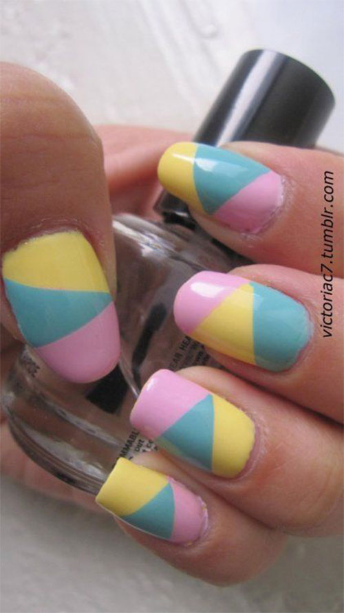 Art Designs: 18+ Simple & Easy Easter Nails Art Designs & Ideas 2018