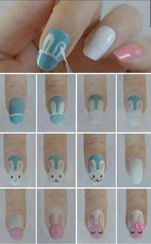 15-Easter-Nail-Art-Tutorials-For-Beginners-Learners-2018-10