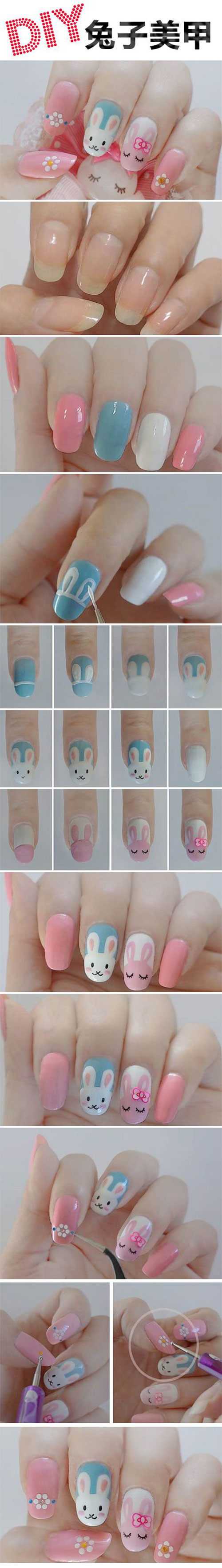 15-Easter-Nail-Art-Tutorials-For-Beginners-Learners-2018-15