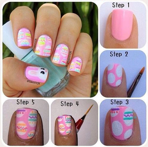 15-Easter-Nail-Art-Tutorials-For-Beginners-Learners-2018-3