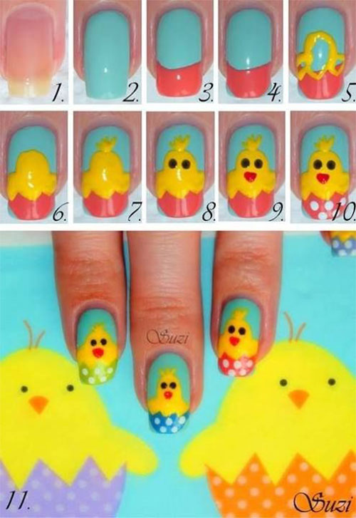 15-Easter-Nail-Art-Tutorials-For-Beginners-Learners-2018-6