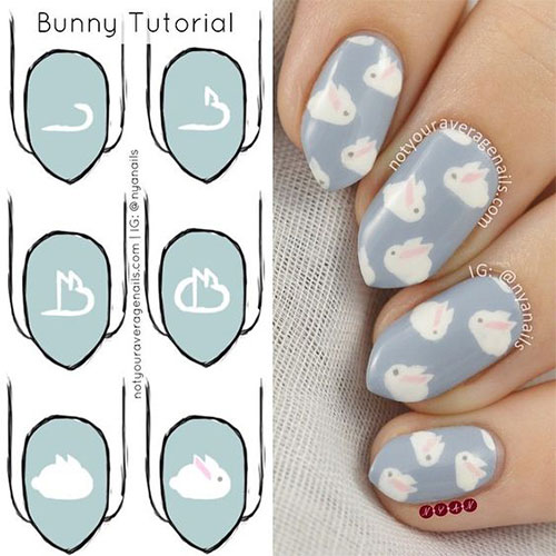 15-Easter-Nail-Art-Tutorials-For-Beginners-Learners-2018-8