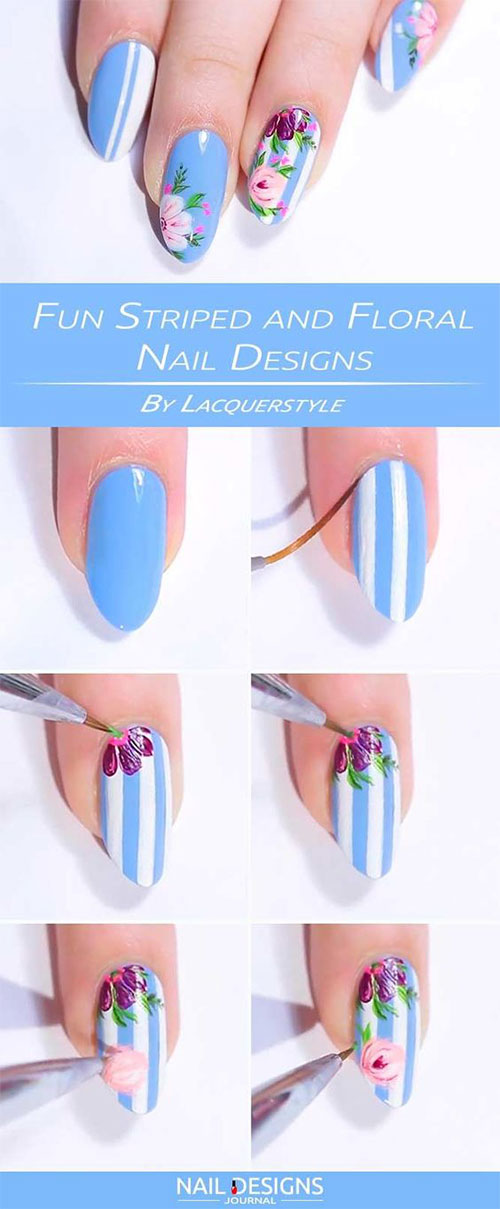 12-Easy-Simple-Spring-Nails-Art-Tutorials-For-Beginners-2018-10