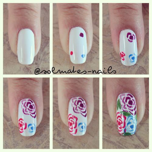 12-Easy-Simple-Spring-Nails-Art-Tutorials-For-Beginners-2018-2