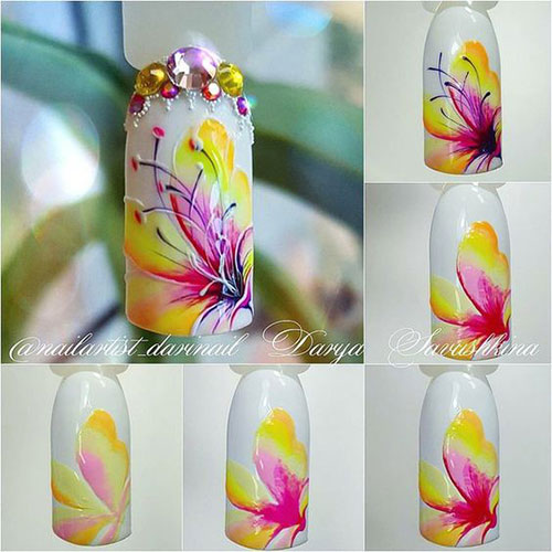 12-Easy-Simple-Spring-Nails-Art-Tutorials-For-Beginners-2018-4