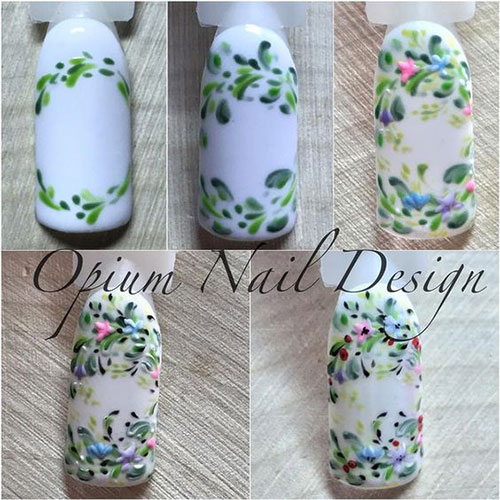12-Easy-Simple-Spring-Nails-Art-Tutorials-For-Beginners-2018-5