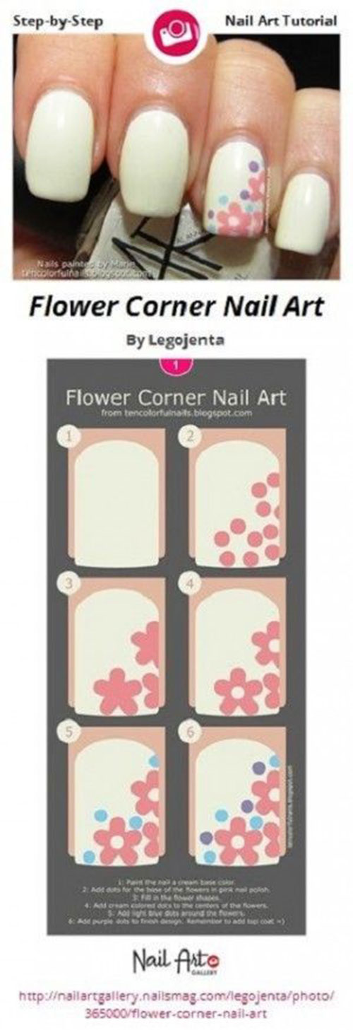 12-Easy-Simple-Spring-Nails-Art-Tutorials-For-Beginners-2018-8