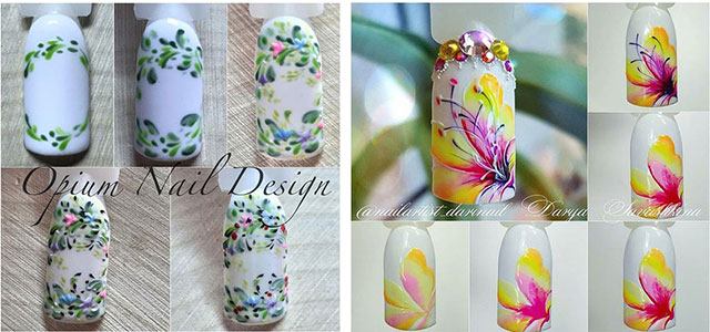 12-Easy-Simple-Spring-Nails-Art-Tutorials-For-Beginners-2018-F
