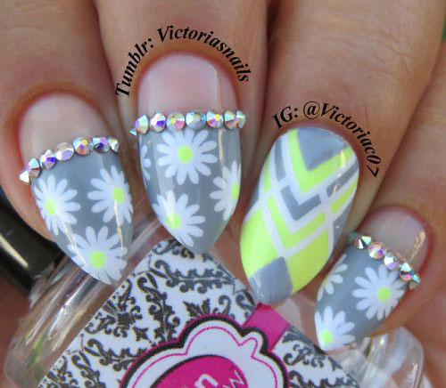 15 spring gel nail art designs amp ideas 2018 fabulous