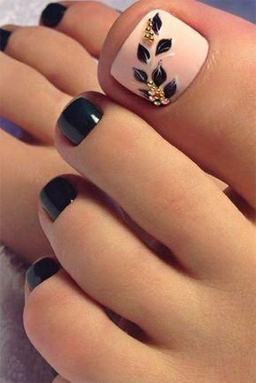 15+ Spring Toe Nails Art Designs & Ideas 2018 | Fabulous Nail Art ...
