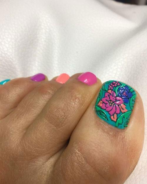 15+ Spring Toe Nails Art Designs & Ideas 2018 | Fabulous Nail Art ...