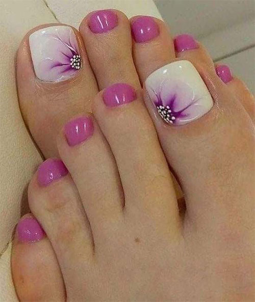 15-Spring-Toe-Nails-Art-Designs-Ideas-2018-9