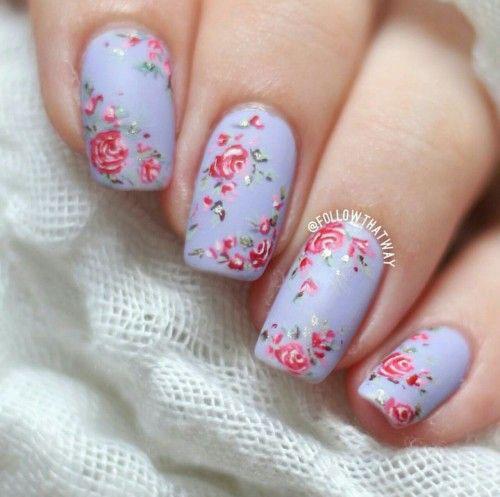 20-Spring-Floral-Nails-Art-Designs-&-Ideas-2018-11