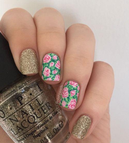 20-Spring-Floral-Nails-Art-Designs-&-Ideas-2018-13