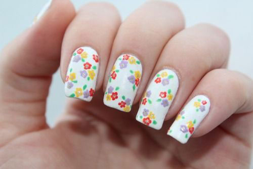 20-Spring-Floral-Nails-Art-Designs-&-Ideas-2018-14