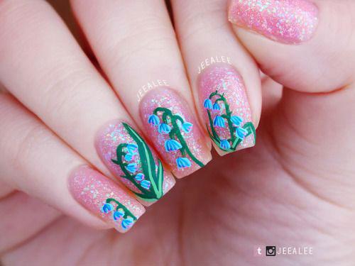 20-Spring-Floral-Nails-Art-Designs-&-Ideas-2018-16