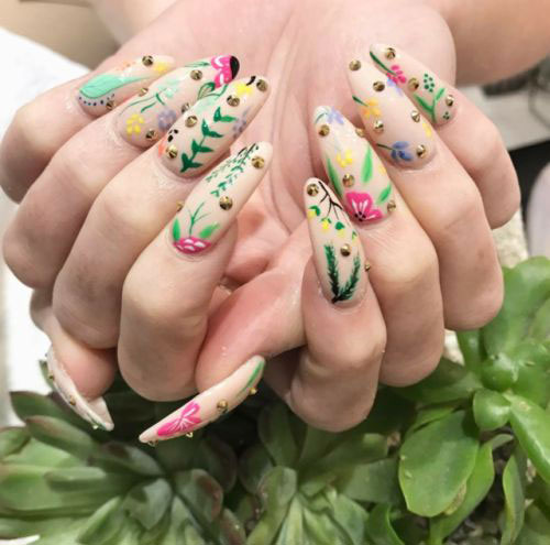 20-Spring-Floral-Nails-Art-Designs-&-Ideas-2018-18