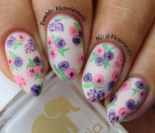 20-Spring-Floral-Nails-Art-Designs-&-Ideas-2018-2