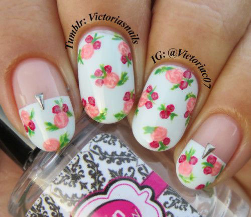 20-Spring-Floral-Nails-Art-Designs-&-Ideas-2018-20