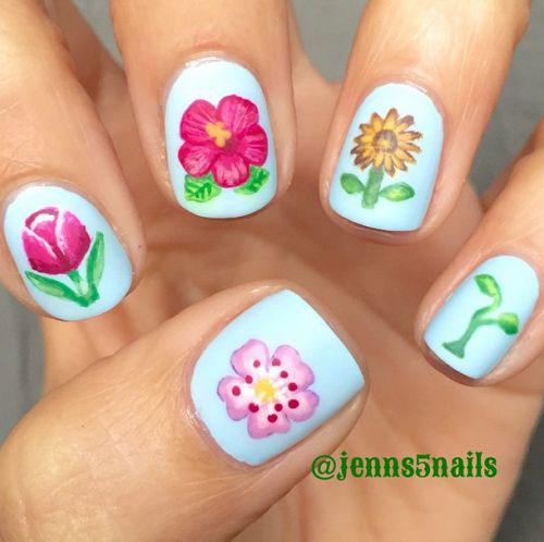 20-Spring-Floral-Nails-Art-Designs-&-Ideas-2018-3
