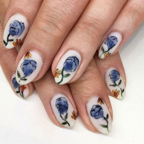 20-Spring-Floral-Nails-Art-Designs-&-Ideas-2018-5