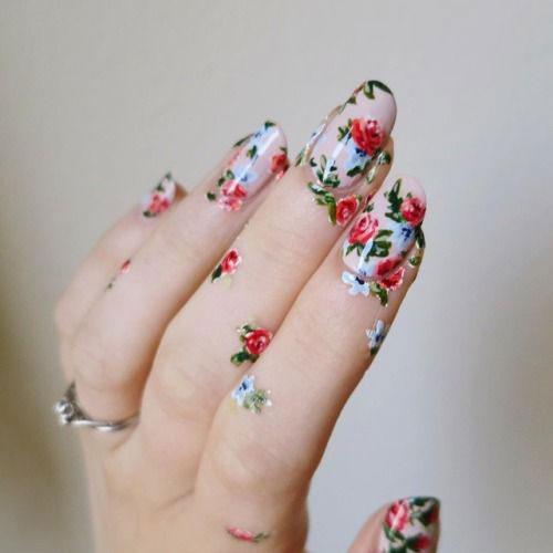 20-Spring-Floral-Nails-Art-Designs-&-Ideas-2018-6