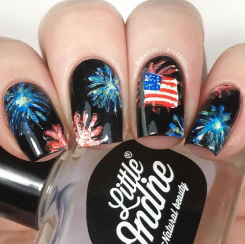 10-Amazing-4th-of-July-Fireworks-Nail-Art-Designs-Ideas-2018-3