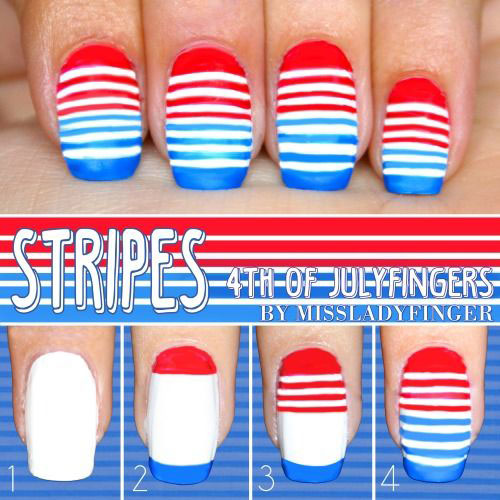 10-Easy-Step-By-Step-4th-of-July-Nails-Tutorials-For-Beginners-2018-1