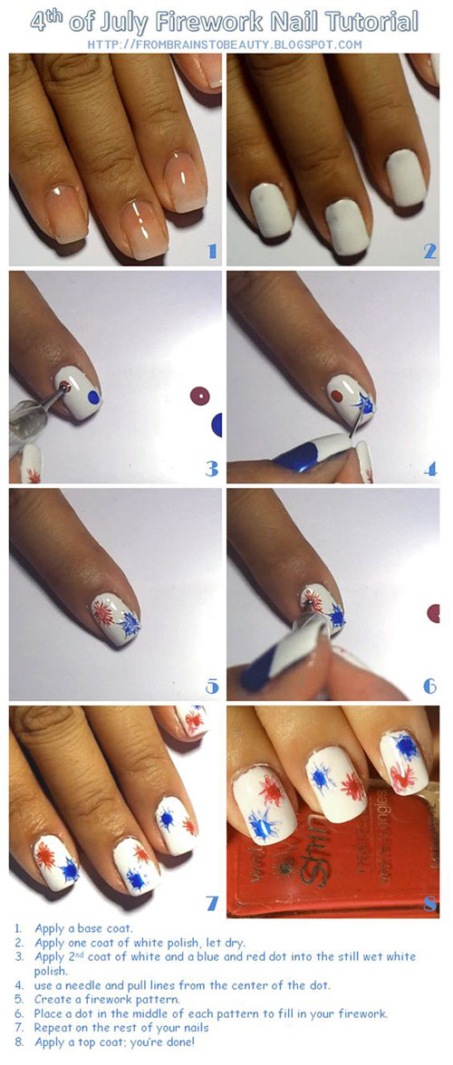10-Easy-Step-By-Step-4th-of-July-Nails-Tutorials-For-Beginners-2018-11
