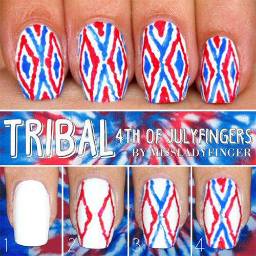 10-Easy-Step-By-Step-4th-of-July-Nails-Tutorials-For-Beginners-2018-3