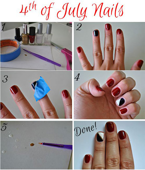 10-Easy-Step-By-Step-4th-of-July-Nails-Tutorials-For-Beginners-2018-4