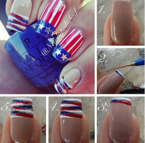 10-Easy-Step-By-Step-4th-of-July-Nails-Tutorials-For-Beginners-2018-5