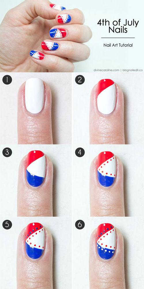 10-Easy-Step-By-Step-4th-of-July-Nails-Tutorials-For-Beginners-2018-6