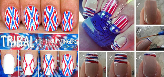 10-Easy-Step-By-Step-4th-of-July-Nails-Tutorials-For-Beginners-2018-F
