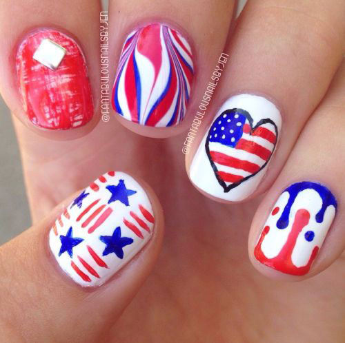 15-American-Flag-Nail-Art-Designs-Ideas-2018-4th-of-July-Nails-2