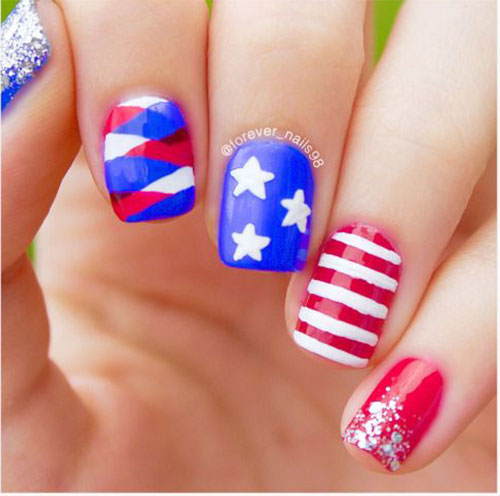 15-American-Flag-Nail-Art-Designs-Ideas-2018-4th-of-July-Nails-3