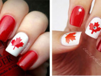 15-Canada-Flag-Nails-Art-Designs-&-Ideas-2018-F