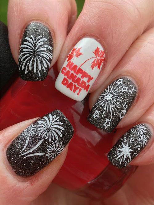 18-Canada-Day-Nails-Art-Designs-Ideas-2018-1