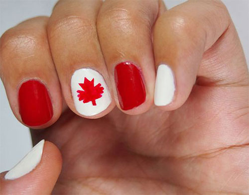 18-Canada-Day-Nails-Art-Designs-Ideas-2018-18