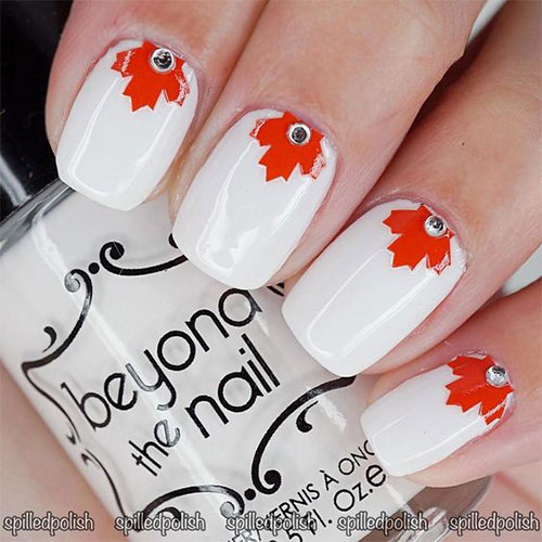 18-Canada-Day-Nails-Art-Designs-Ideas-2018-4